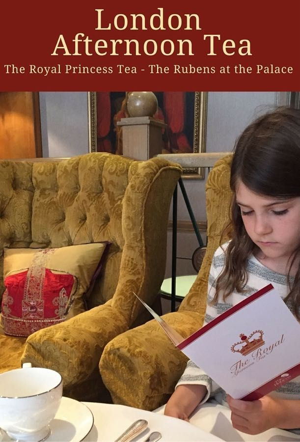 Fancy a spot of tea in London? The Rubens at the Palace Hotel offers a lovely Prince and Princess Royal afternoon tea for children.