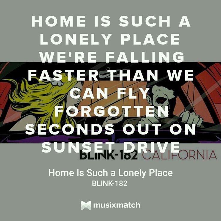 351 best blink-182 lyrics images on Pinterest | Lyrics, Music ...