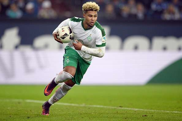 Serge Gnabry has been in great touch at Werder Bremen
