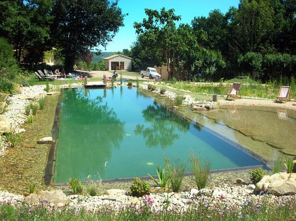 Outdoor natural pool  151 best Natural Pools & Ponds images on Pinterest | Natural ...