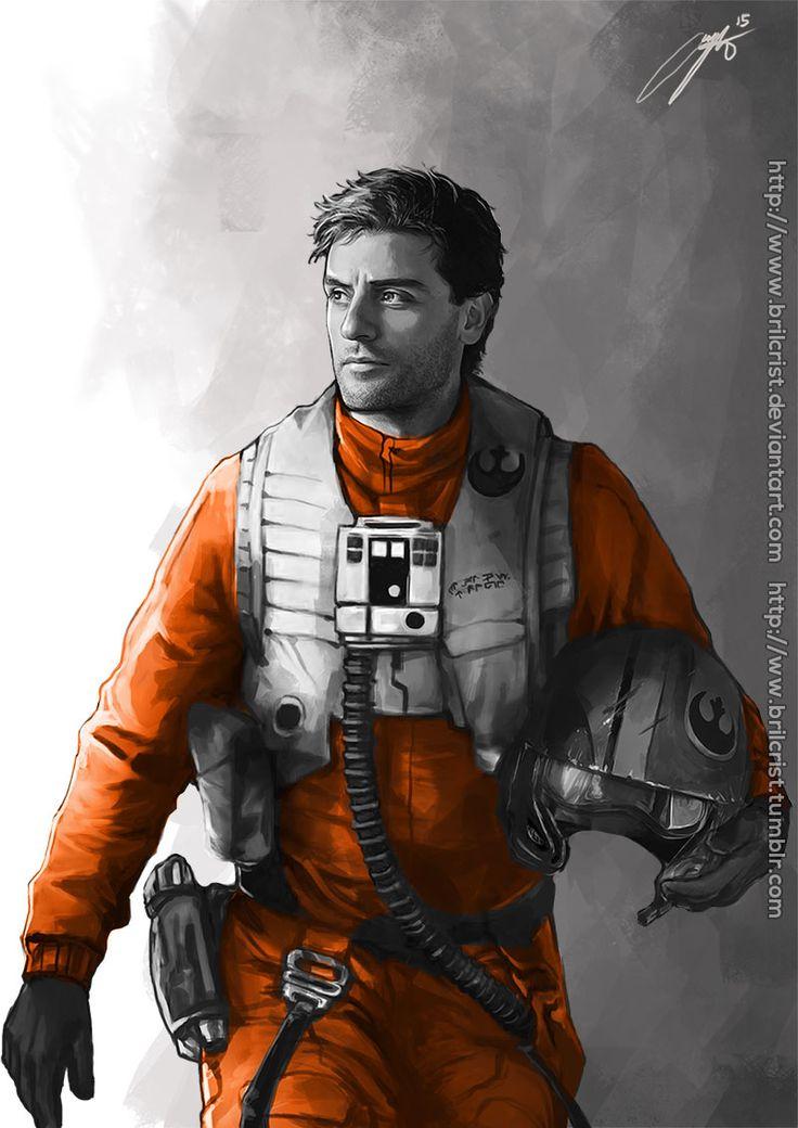 Poe Dameron by Brilcrist fighter pilot armor clothes ...