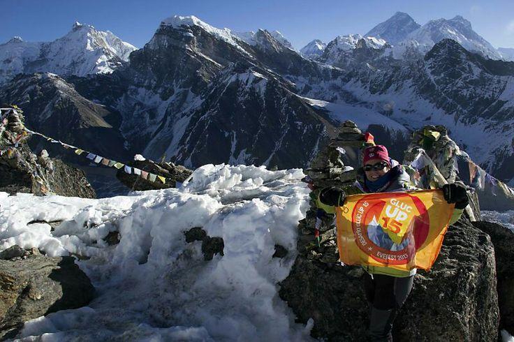 Con Gluc Up 15 en el Himalaya