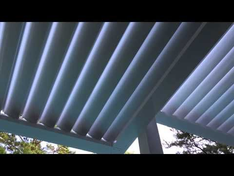 EQUINOX Roof   Motorized Louvered Patio Systems   Homes & Businesses