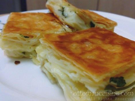 Su Boregi - Turkish Cheese Lasagna