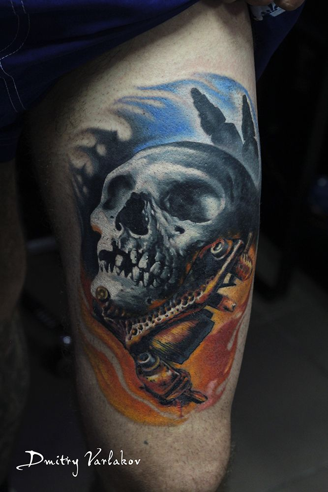 #varlakovtatto #musthavetattoo #realistictattoo #tattoo #tattooart #tattooinmoscow #татуировка # #татухи #art #тату #skull