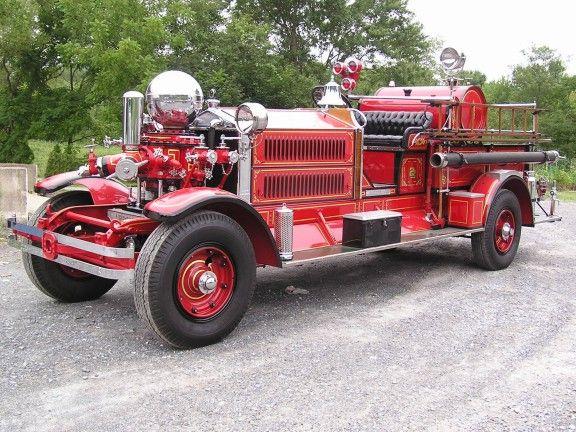 January 2007 - Ahrens Fox MX4 Fire Engine