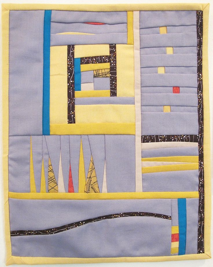 Homeland by Chancy Fessler.  Stitch Modern 2016.  Photo by The Plaid Portico.
