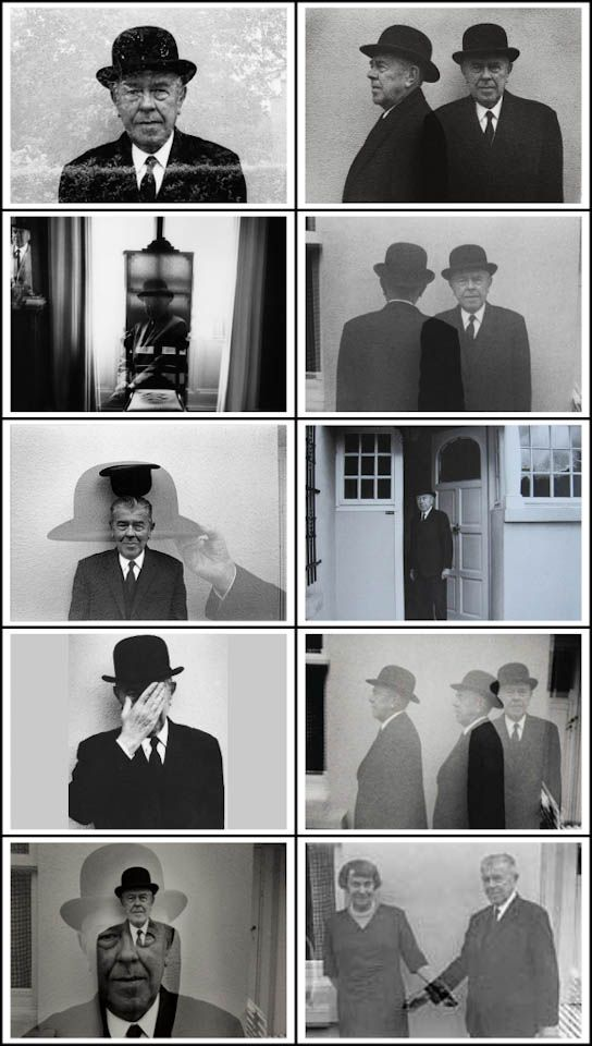 Duane Michals (b.1932) - Rene Magritte