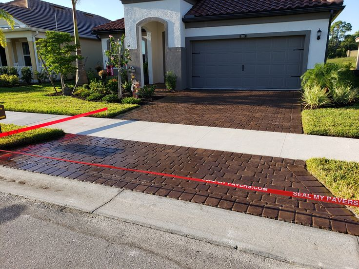 """ANOTHER BEAUTIFUL JOB DONE BY """"SEAL MY PAVERS"""" IN MATTAMY"""