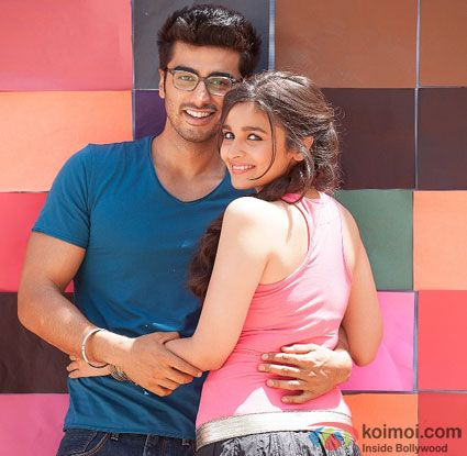 Alia Bhatt and Arjun Kapoor in 2 States Movie