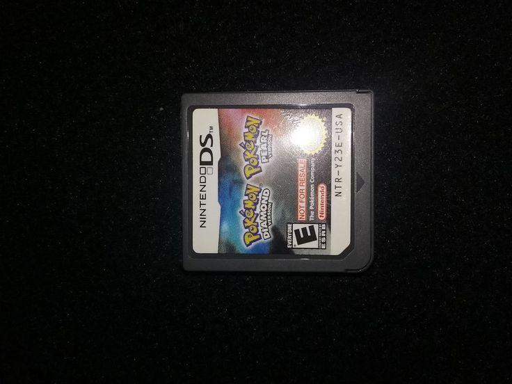 Nintendo ds pokemon diamond pearl version not for resale