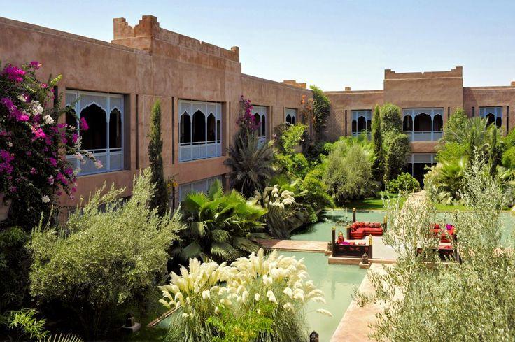 The Sahara Palace of Marrakech, Morocco, designed by the architect Stuart Church. #interdema #SaharaPalace #hotel #luxuryhotel #architecture #Moorisharchitecture #design #moroccanstyle #Marrakech #гостиница #люксотель #архитектура #дизайн