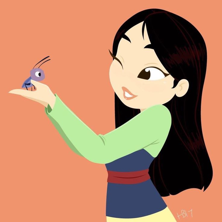 Mulan and crikey by Hollie Ballard