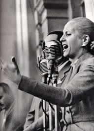Eva Peron... One of my favorite women... Truly inspirational with class, poise, heart and courage. A passion that came from adversity, the understanding of struggle and hardship and strength to look above while high society looked down... What an amazing story.