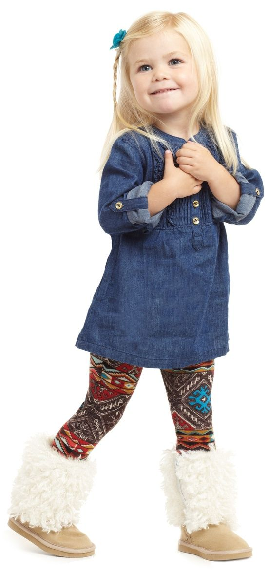 Get your little one her new favorite outfit Love the boots!