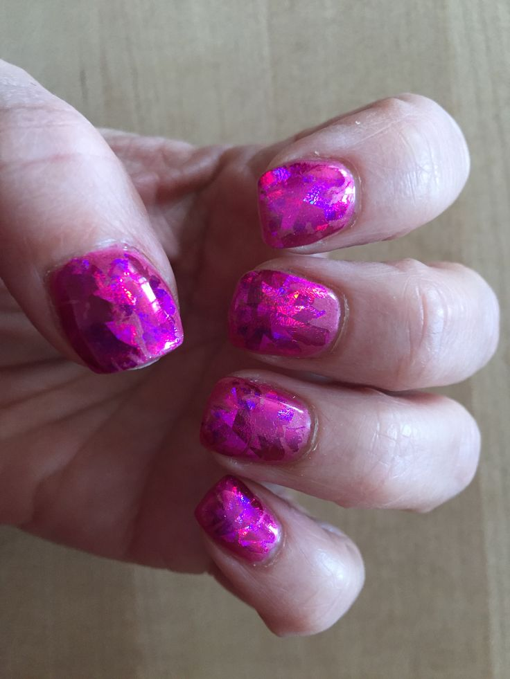 hot pink kaleidoscope