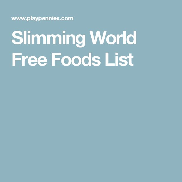 Best 25 slimming world free foods ideas on pinterest Slimming world recipes for 1 person