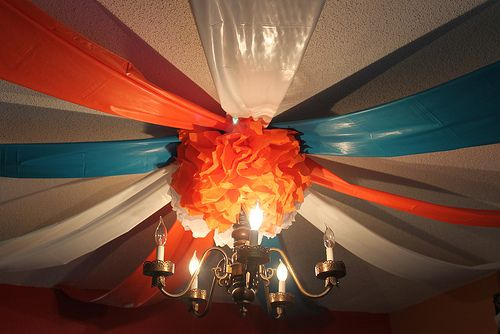 Pinterest graduation Party Ideas | ... made out of cheap plastic tablecloths, idea, courtesy of Pinterest