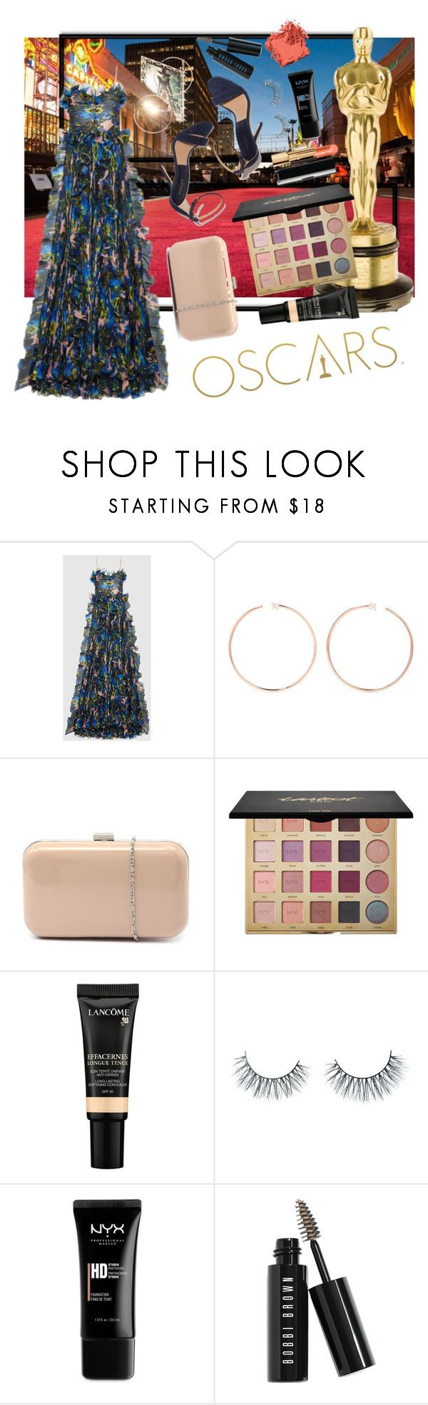 """Oscars Countdown: Presenter"" by lupeobera ❤ liked on Polyvore featuring Gucci, Anita Ko, Verali, tarte, Lancôme, Unicorn Lashes, NYX and Bobbi Brown Cosmetics"
