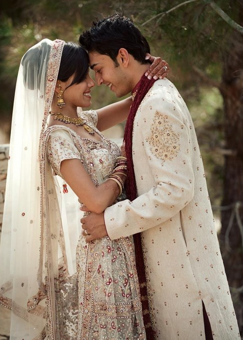 17 best images about indian wedding dress on pinterest for Indian fusion wedding dress