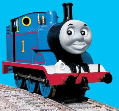 I've seen a lot of designs for Thomas the Train since he's a pretty popular character for boy birthdays. One design element that tended to ...