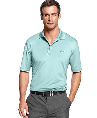 Greg Norman for Tasso Elba Golf Shirts, 5 Iron Performance Polo Golf Shirts