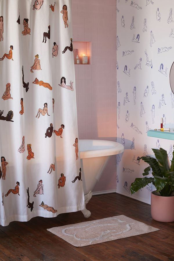 Bathing Beauties Shower Curtain Apartment Bathroom Bathroom