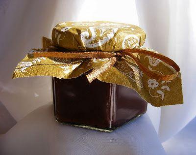szeretetrehangoltan: Csokoládés szilvalekvár, natúr szilvadzsem tartósítószer nélkül