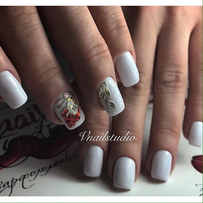 White Nail Polish In Winter: 1040 Best Winter Nails Images On Pinterest