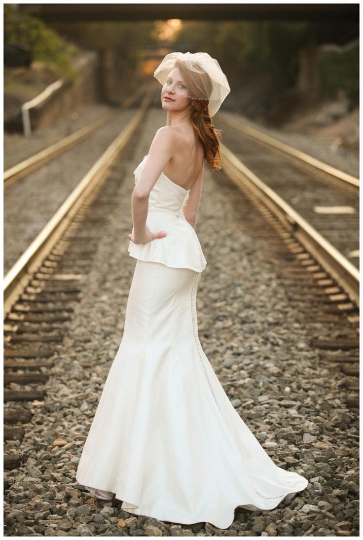 Jenny Tenney Photography  Salisbury train station wedding  Victoria Nicole gown  Bellissima of Salisbury  http://jennytenneyblog.com/salisbury-nc-wedding-photographer-bellissima-bridal-fashion-shoot/#