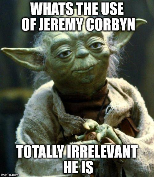 Corbyn irrelevant