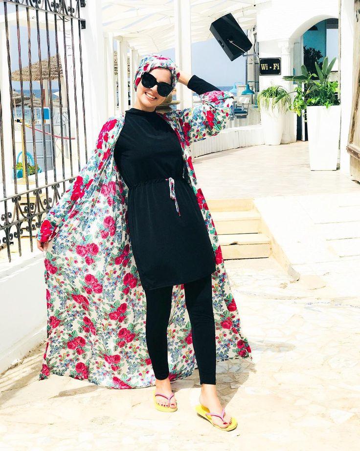 Seafanny Islamic Natation Hijab Maillots de bain Modeste Maillots de bain pleine longueur Active Burkini Musulman Maillot de bain