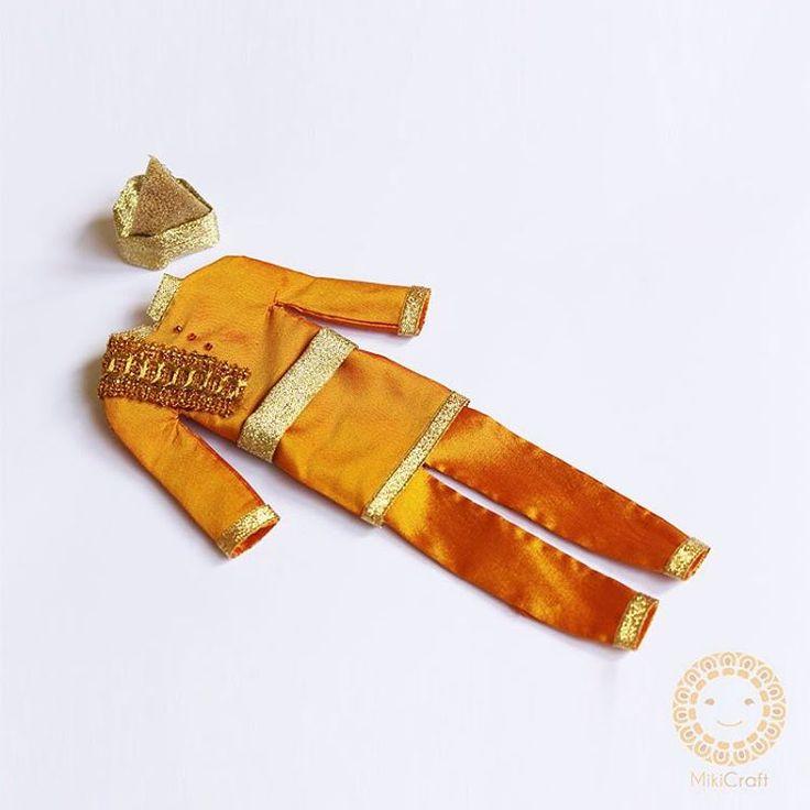 Baju adat melayu_traditional costumes_20cm