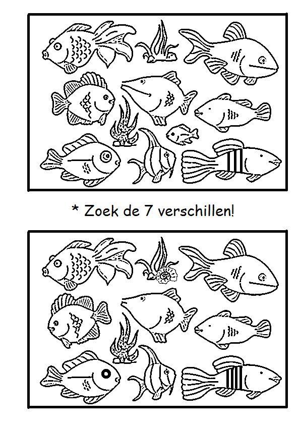 * Zoek de 7 verschillen!