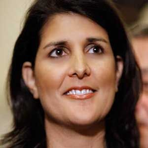 South Carolina's Republican Governor Nikki Haley criticized Washington lawmakers today during a tongue lashing she issued at a press conference for the Republican Governors Association.