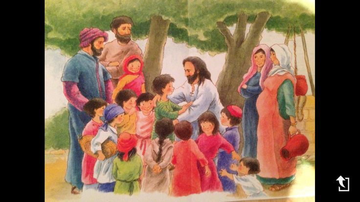 Jezus de kindervriend TOV