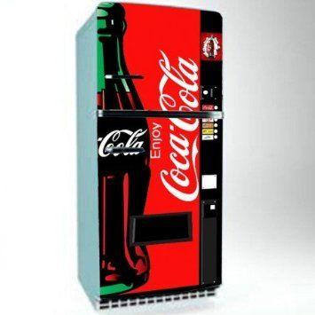 top vinyles pour les xcm coke coca cola stickers frigo dco cuisine adhsifs with sticker frigo. Black Bedroom Furniture Sets. Home Design Ideas