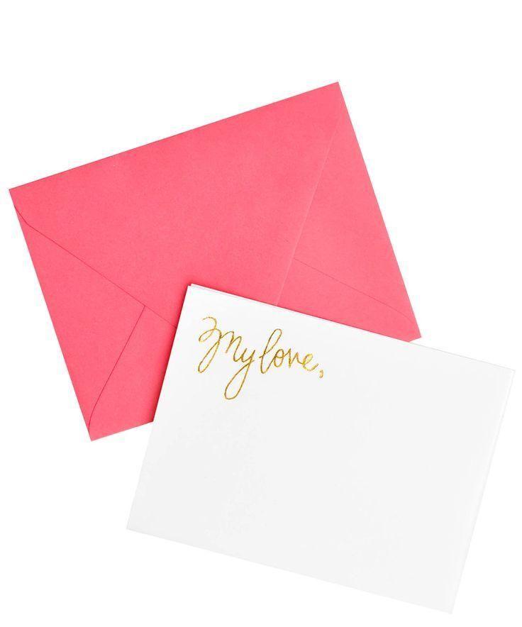 My Love Notecard Set