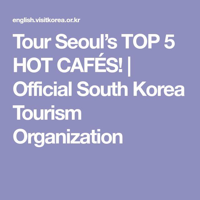 Tour Seoul's TOP 5 HOT CAFÉS! | Official South Korea Tourism Organization
