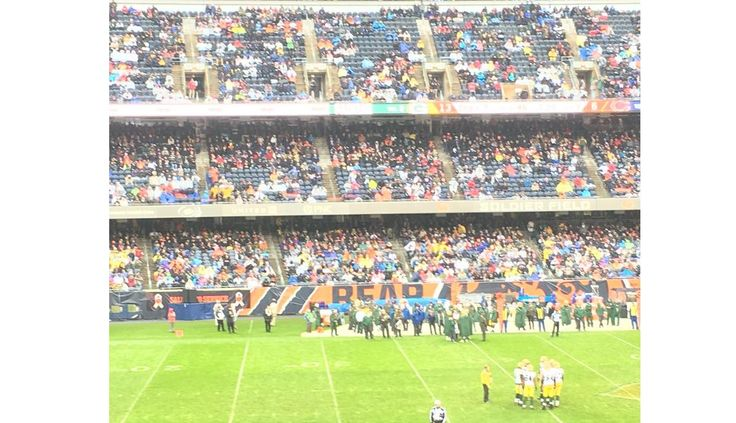 Hey NFL=> Bears Packers Game HALF EMPTY at Soldier Field — This Ain't Good Folks!