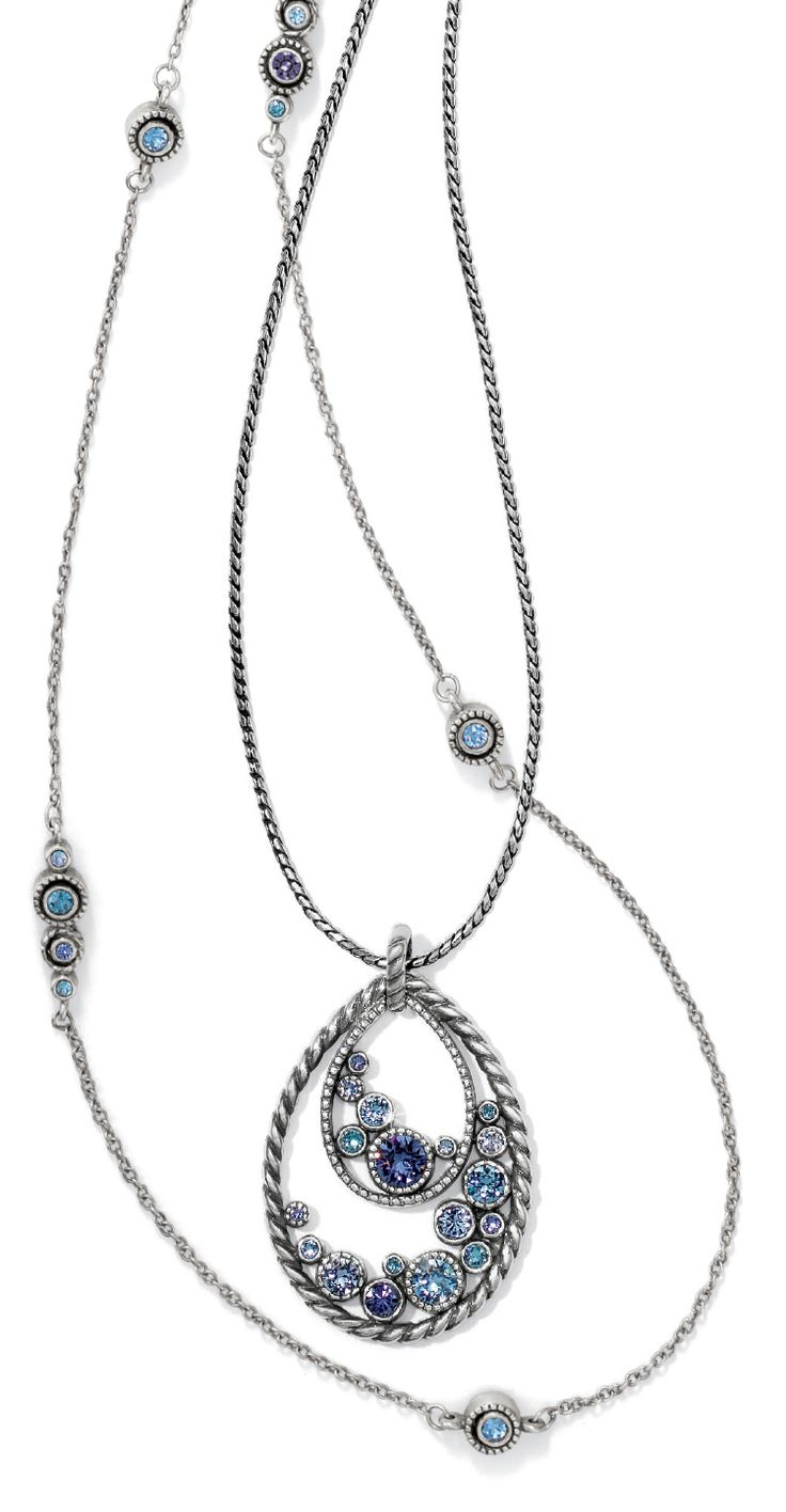 The combination of the Brighton Halo Convertible Long Necklace and Halo Long Necklace is perfection! What do you think?