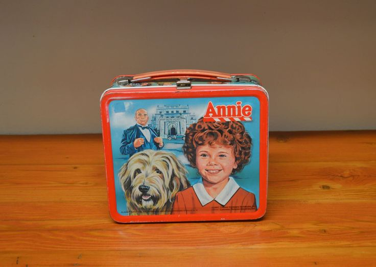 Vintage Annie lunch box collectible Aladdin lunch box by MaAndPasAttic on Etsy