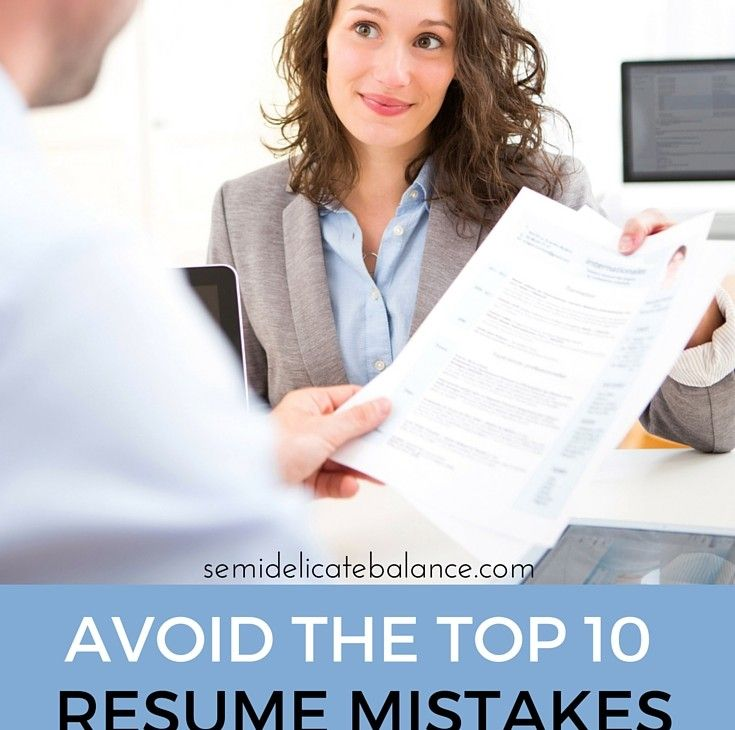 7 best resumes images on Pinterest Resume design, Branding - top 10 resume mistakes