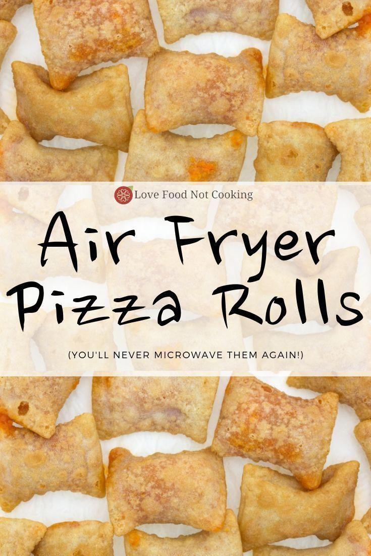 Air Fryer Pizza Rolls (Totino's) Recipe Air fryer