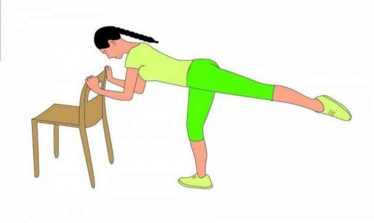 Como treinar em casa usando apenas uma cadeira