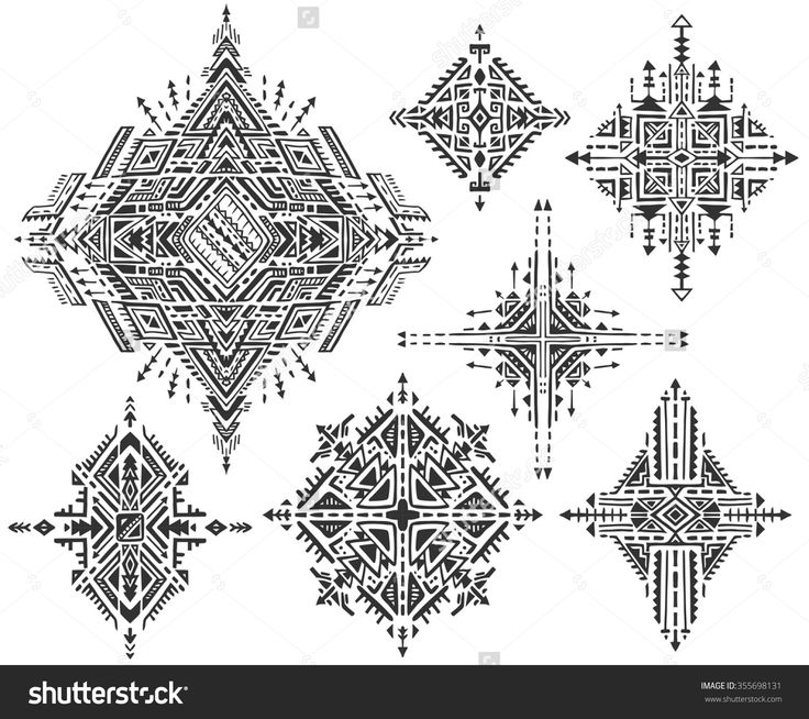 Image result for geometric patterns black and white
