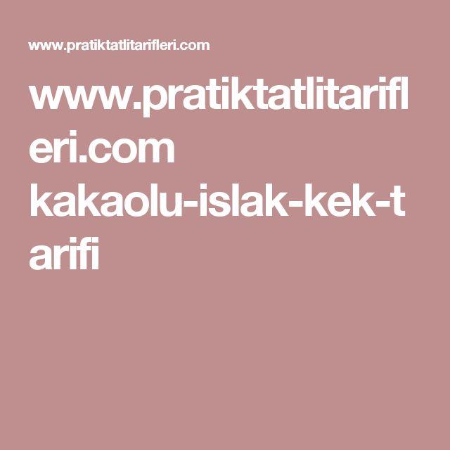 www.pratiktatlitarifleri.com kakaolu-islak-kek-tarifi