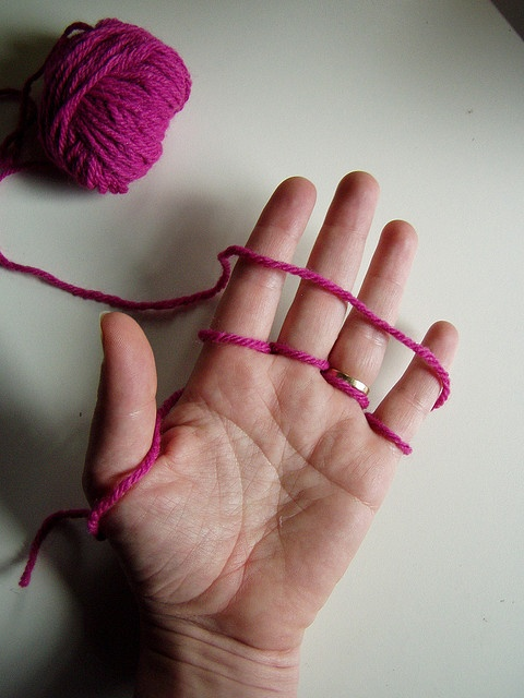 Finger Knitting Directions : Best images about easy knitting techniques on pinterest