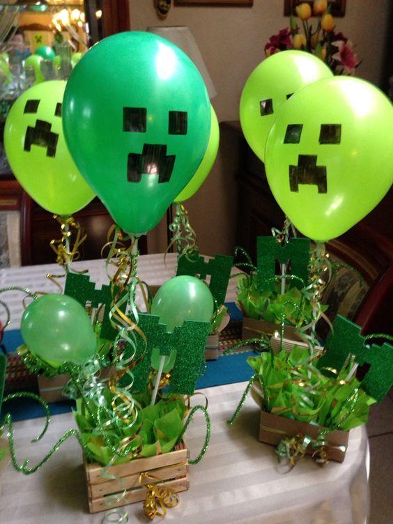 minecraft ideias para festas - Pesquisa Google