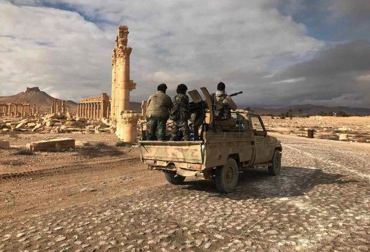 Сирийская армия вошла вПальмиру. Фотографии — Meduza